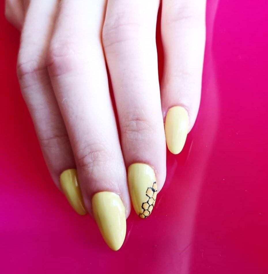 nail art by Hair & Beauty Quarter